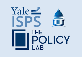 logos for ISPS and The Policy Lab