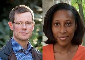 photos of Greg Huber and Ebonya Washington