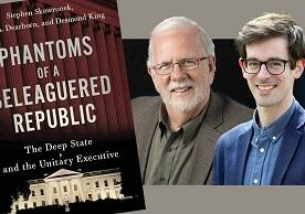 photo of authors and book cover